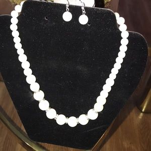 Nickel and lead free necklace and earring set